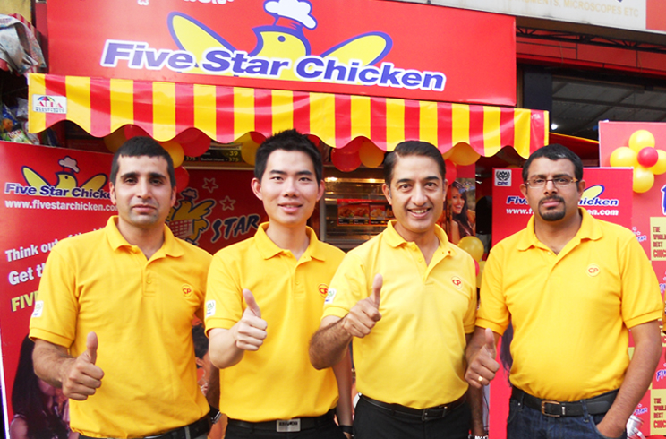 Five-star-chicken-india