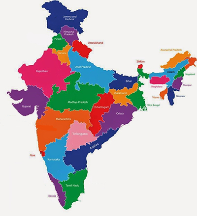 India Map July2015